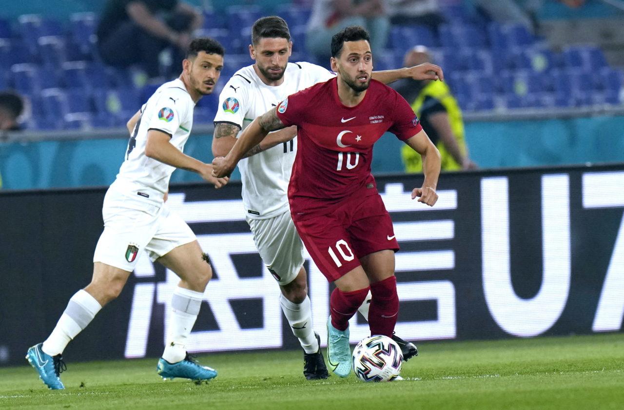 Calhanoglu for Turkey vs. Italy