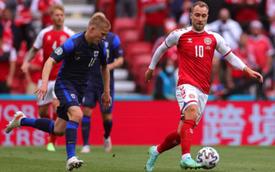 Report: Eriksen asked his teammates to resume the match