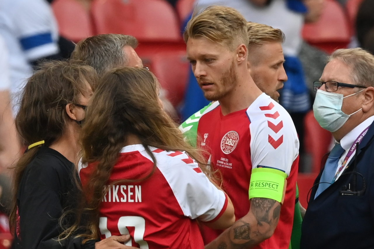 Kjaer: 'Days don't go by without thinking of Eriksen' - Football Italia