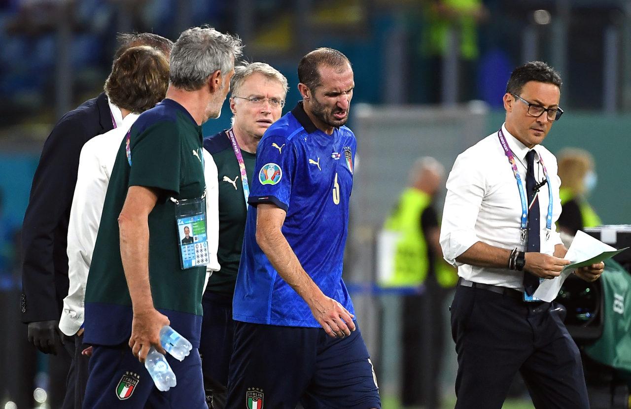 Chiellini injured