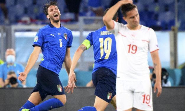 Italy 3-0 Switzerland | Player ratings: Locatelli runs the show