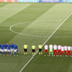 Five Italy players took a knee for Black Lives Matter