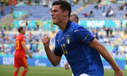 Pessina youngest debutant to score at a major tournament since Cassano