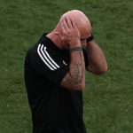 Page bemoans red card against Italy