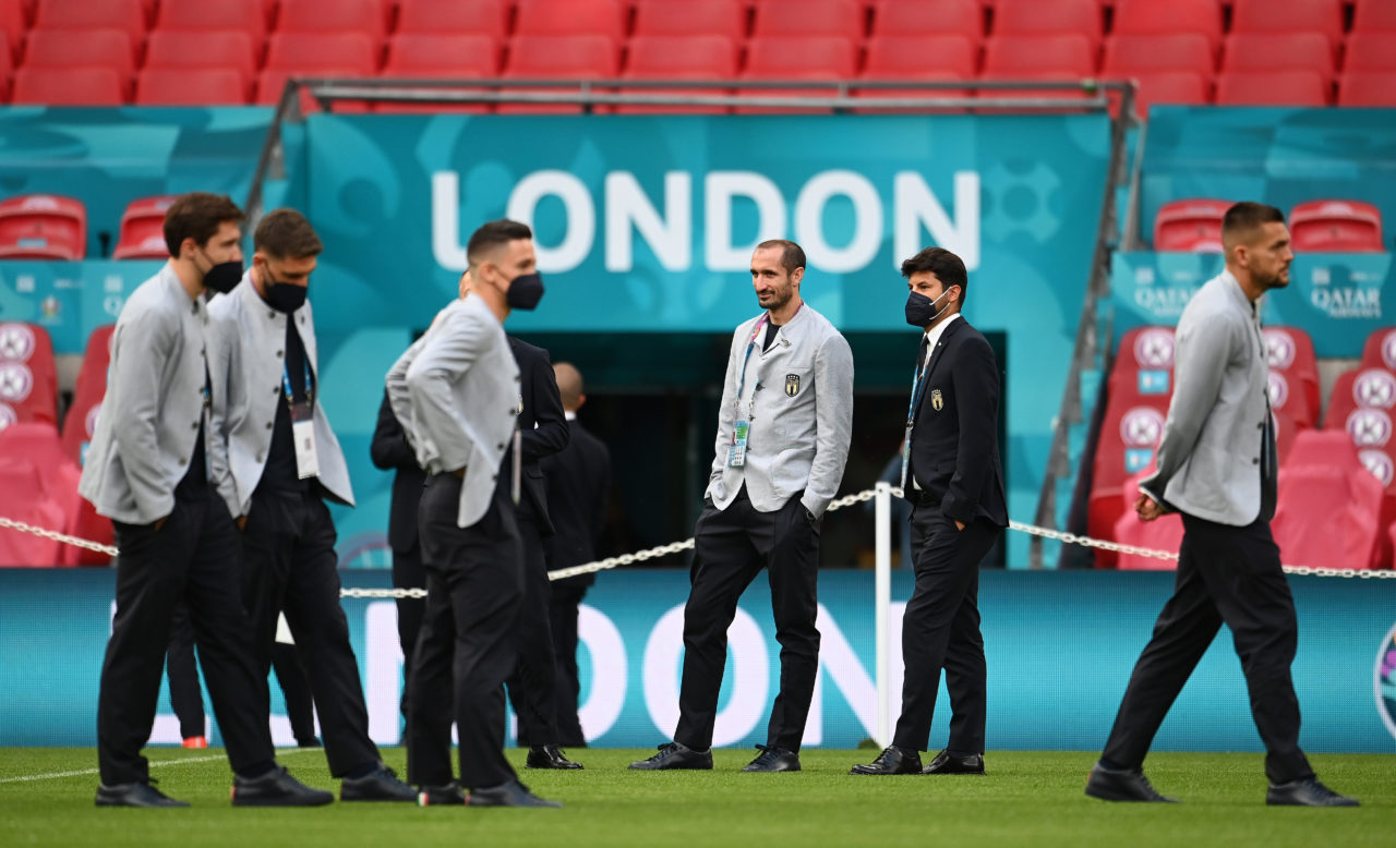 Italy squad in London