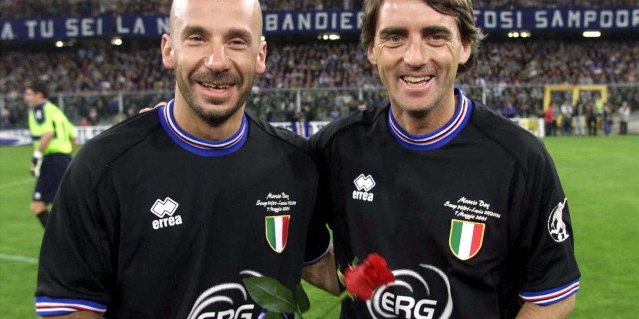 Happy Birthday bro', de boodschap van Mancini aan Vialli - Football Italia