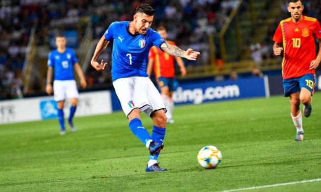 Italy consider False 9 options against Spain