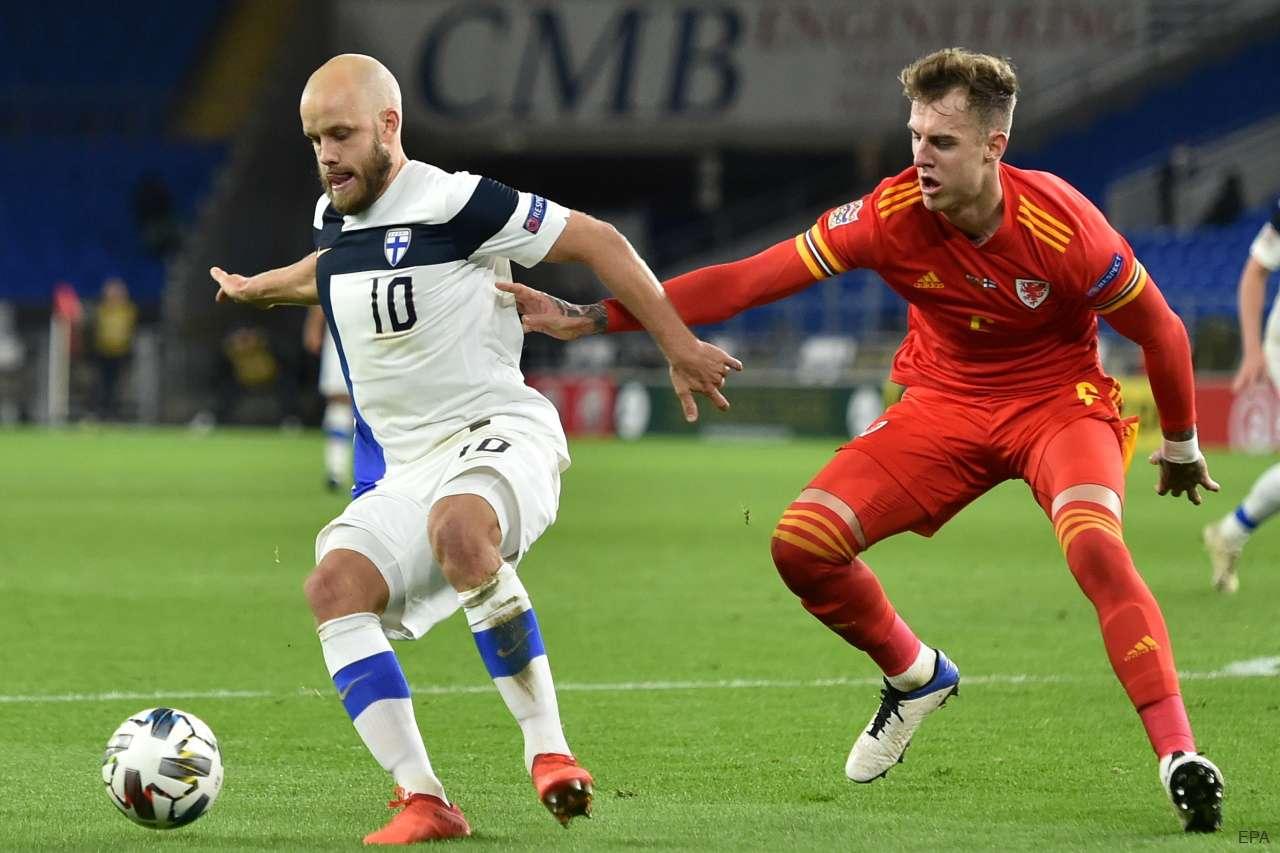 Finland striker Teemu Pukki