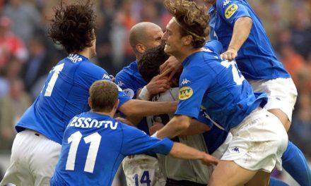Azzurri on edge at the Euros