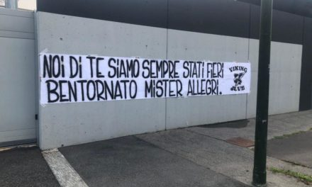 Allegri welcomed back by 'proud' Juventus fans