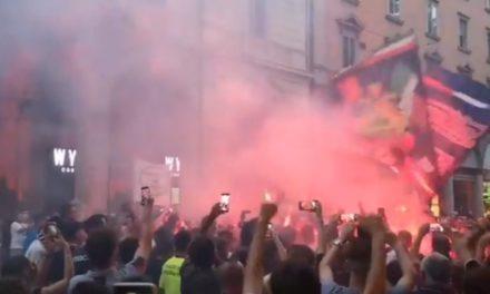 Video: Bologna fans greet Arnautovic