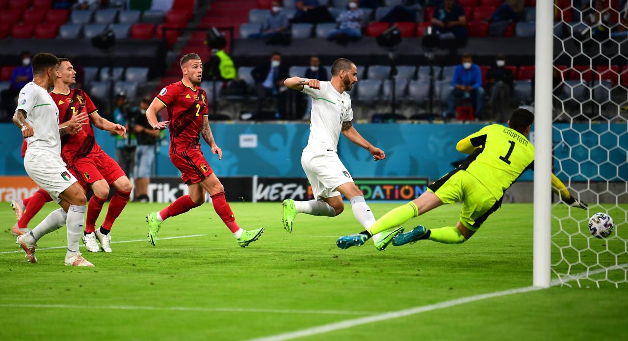 Bonucci Italy Belgium goal