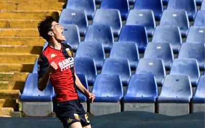 Roma close on Genoa striker Shomurodov