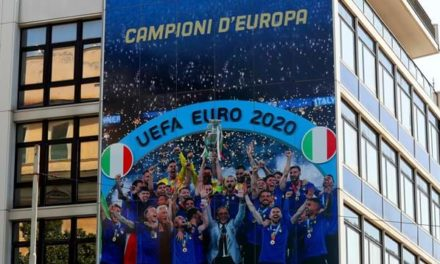 Italy redecorate HQ with UEFA EURO 2020 triumph