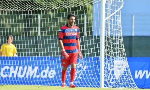 Video: SuperGigi Buffon's still got it
