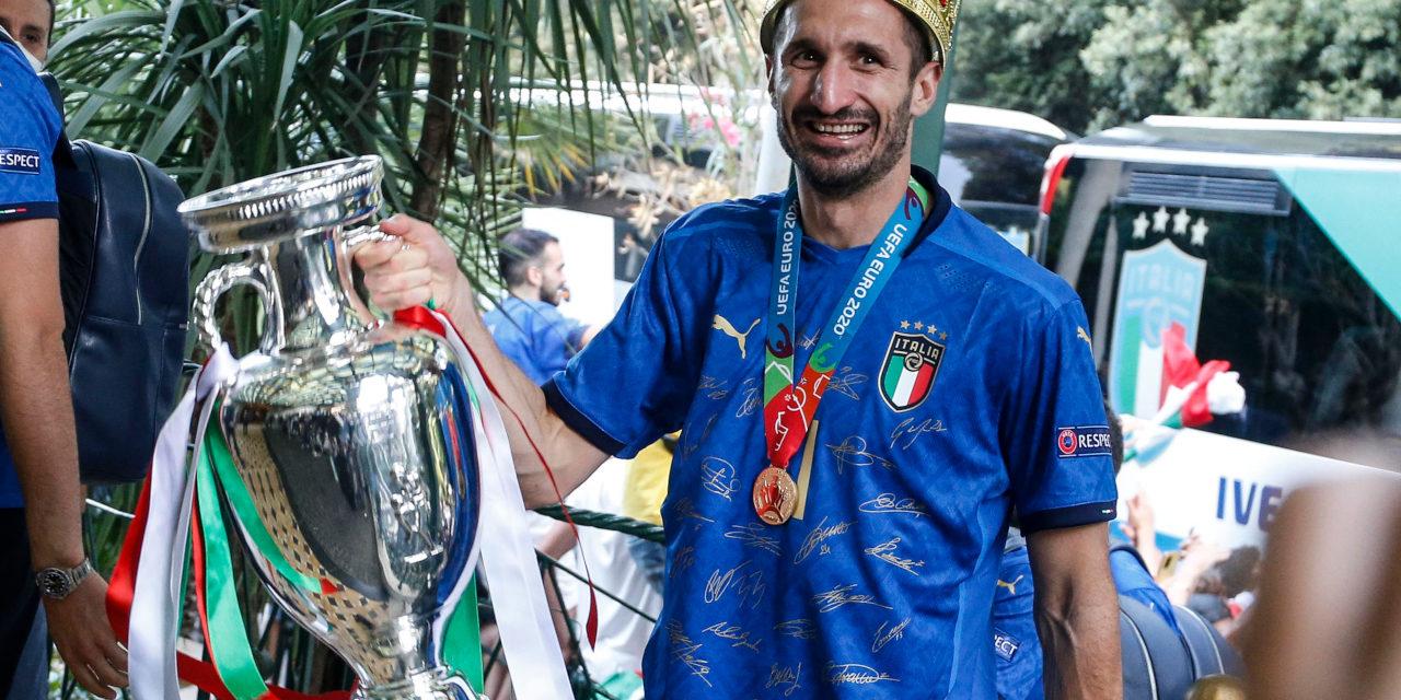 Giorgio Chiellini Euro 2020 crown