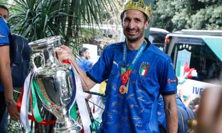 Officiel : Chiellini à la Juventus jusqu'en 2023