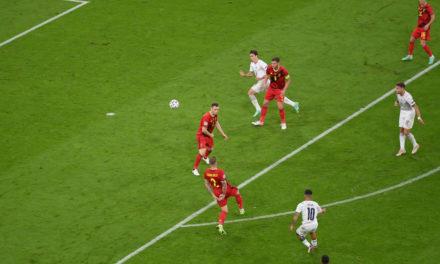Vídeo: el gol de Insigne contra Bélgica, elegido como el segundo mejor de la temporada