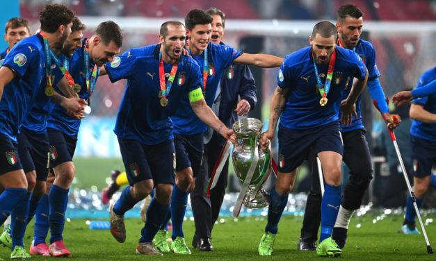 Mancini rewarded for EURO 2020 courage