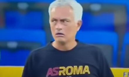 Video: Mourinho screams at Darboe