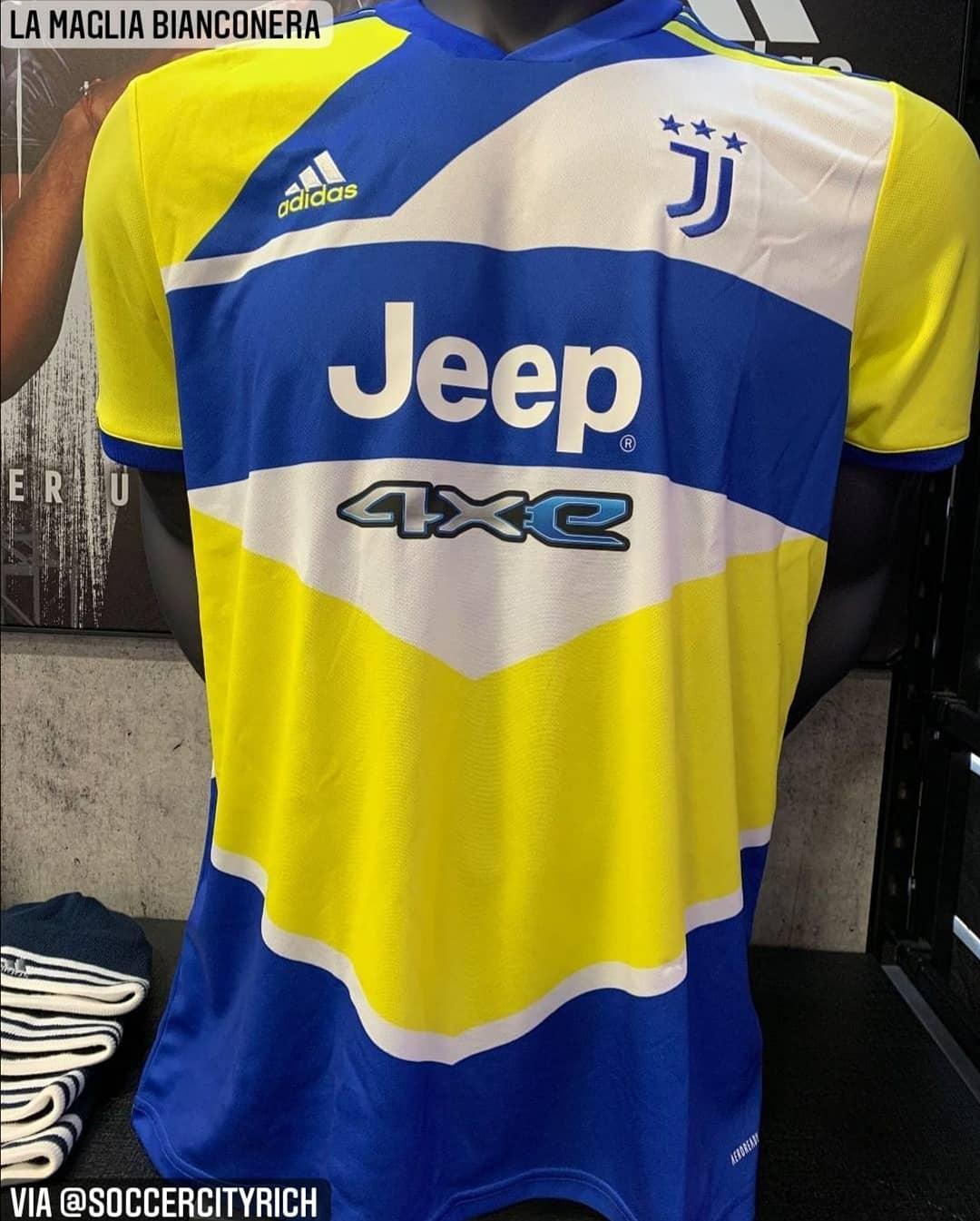 Juventus third kit leaked - Football Italia