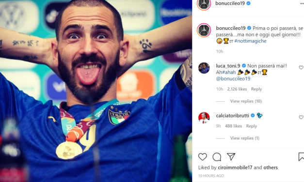 Bonucci: 'Today is not that day'