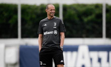 Juventus to unveil Allegri on July 27
