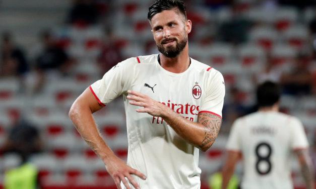 Sky: Giroud dejó el entrenamiento, no estará listo para Venecia