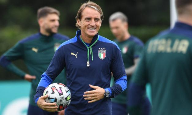 Mancini: 'Italia puede mejorar aún más'