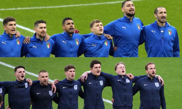EURO 2020 | Italy-England combined XI