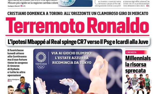 Today's Papers – Mixed Ronaldo reports, stadiums reopen