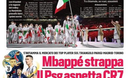 Today's Papers – Juve at centre of two transfer triangles