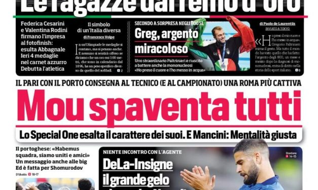 Today's Papers – Liverpool in for Locatelli, why Lukaku snubs Chelsea
