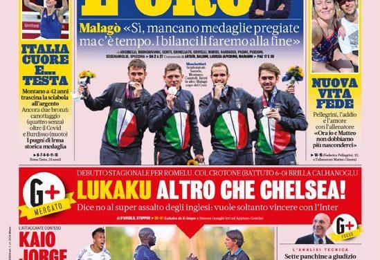 Today's Papers – Lukaku shrugs off Chelsea talk, Roma impress