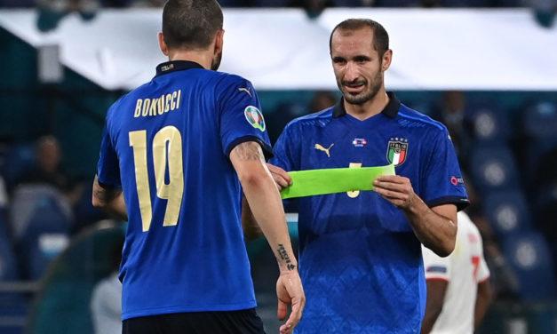 Chiellini: 'I knew Bonucci's move to Milan was a mistake'
