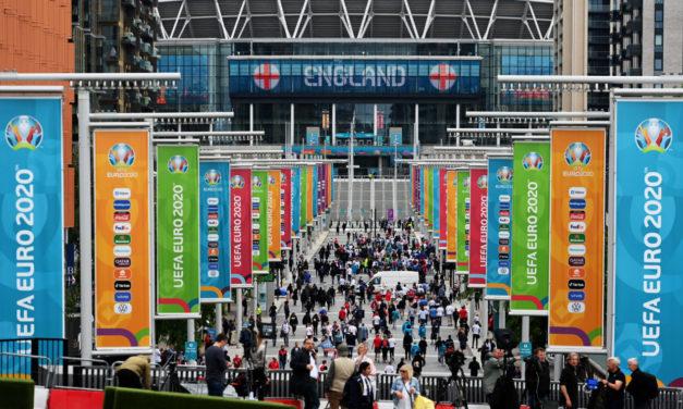 Inglaterra sanciona el estadio después de la final de la EURO 2020