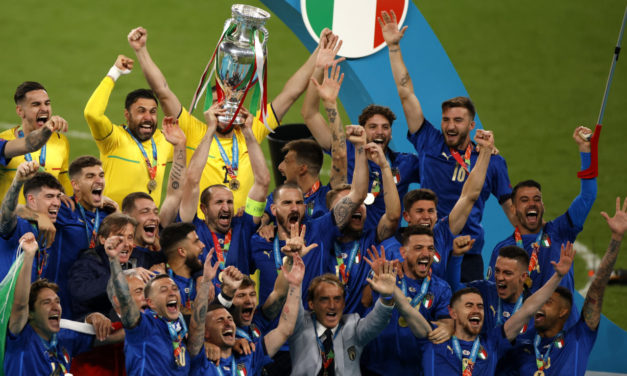 Italy silence doubters by winning EURO 2020