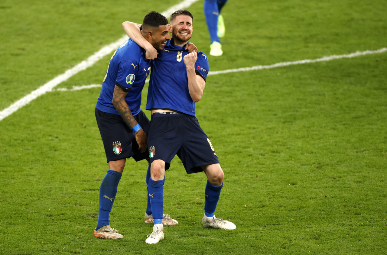 Emerson Palmieri and Jorginho