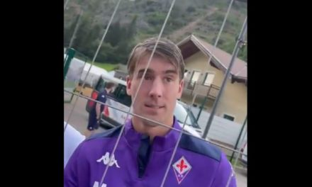 Vlahovic sends message to Fiorentina amid talks of contract extension