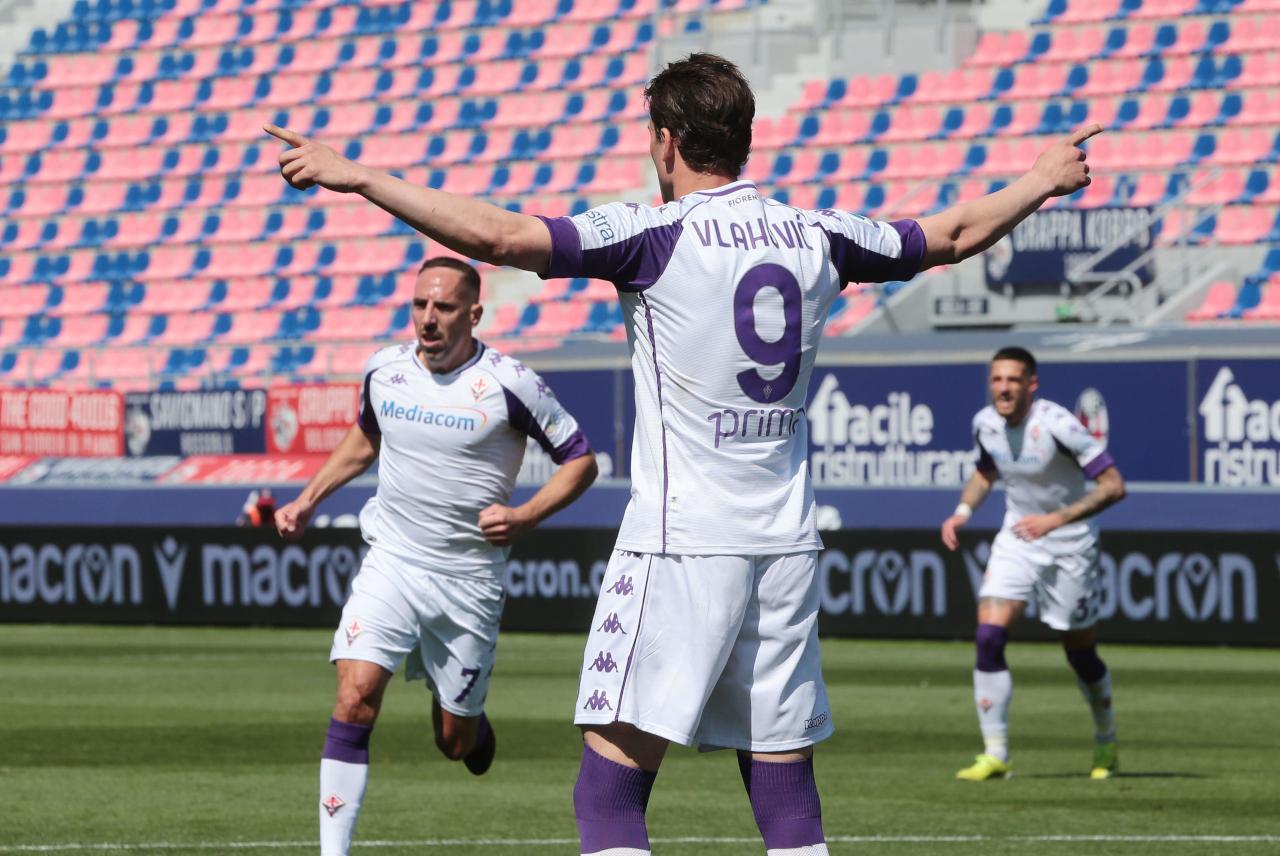 Dusan Vlahovic back