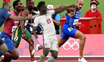 La médaille d'or de Jacobs aux Jeux olympiques de Tokyo inspire un nouveau mème Chiellini-Saka