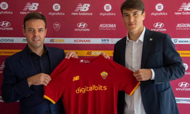 Shomurodov explains why he joined Roma