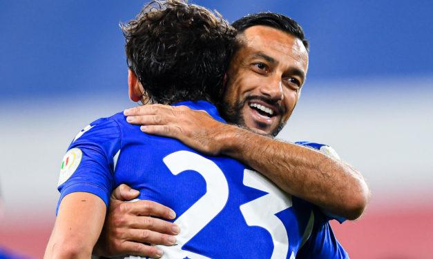 Coppa Italia: Quagliarella inspires Sampdoria comeback