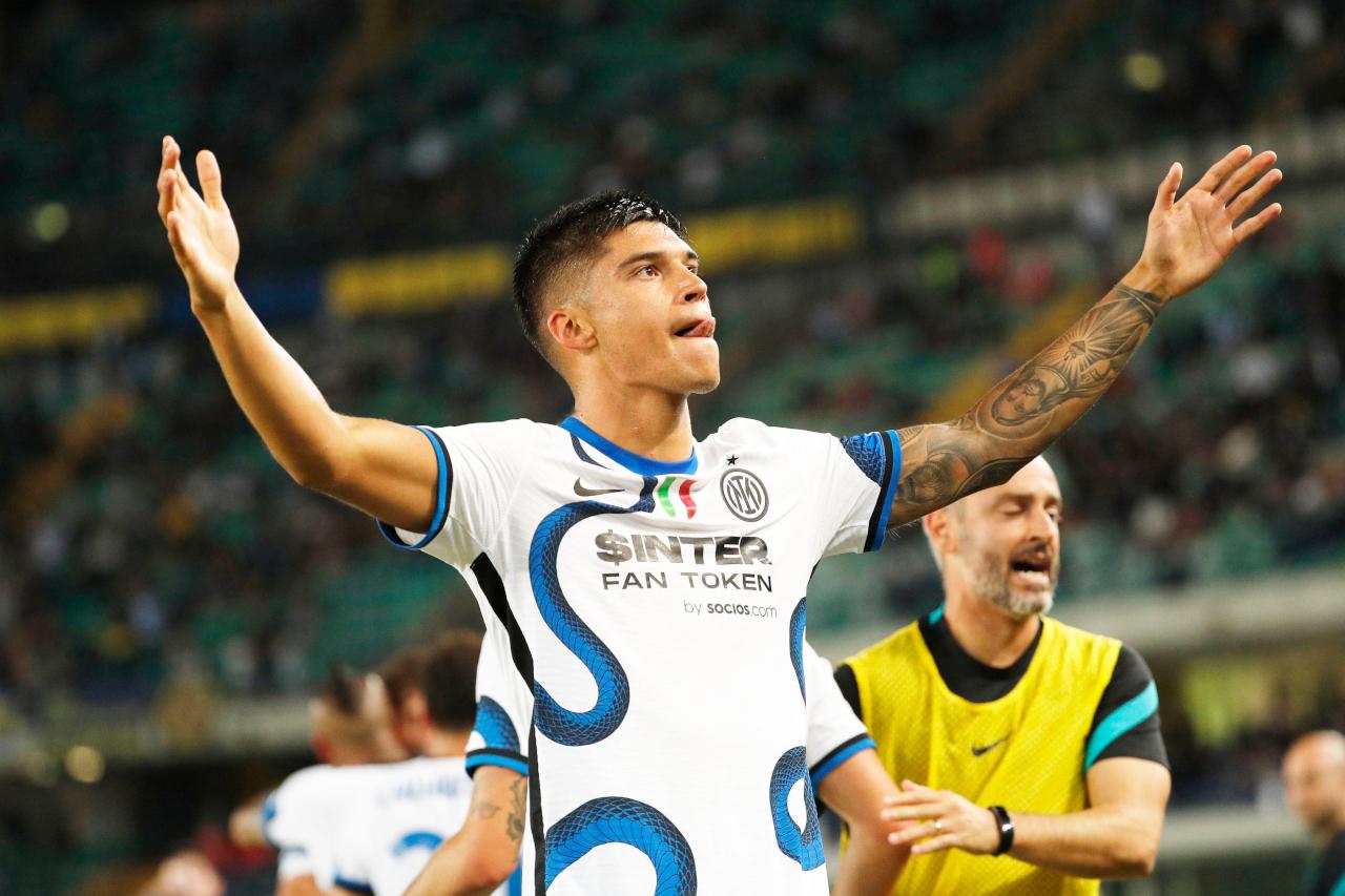 Joaquin Correa Inter celeb