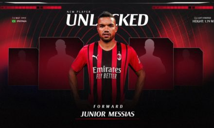 Official: Milan sign Junior Messias