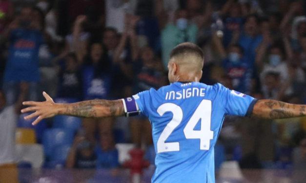 Giuntoli: 'Napoli en conversaciones sobre la extensión del contrato de Insigne'
