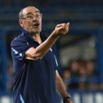 Sarri: 'Mejor partido de la temporada de la Lazio'