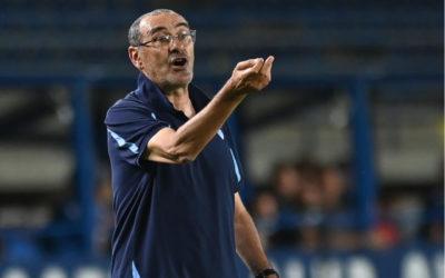 Sarri: 'Best Lazio game of the season'