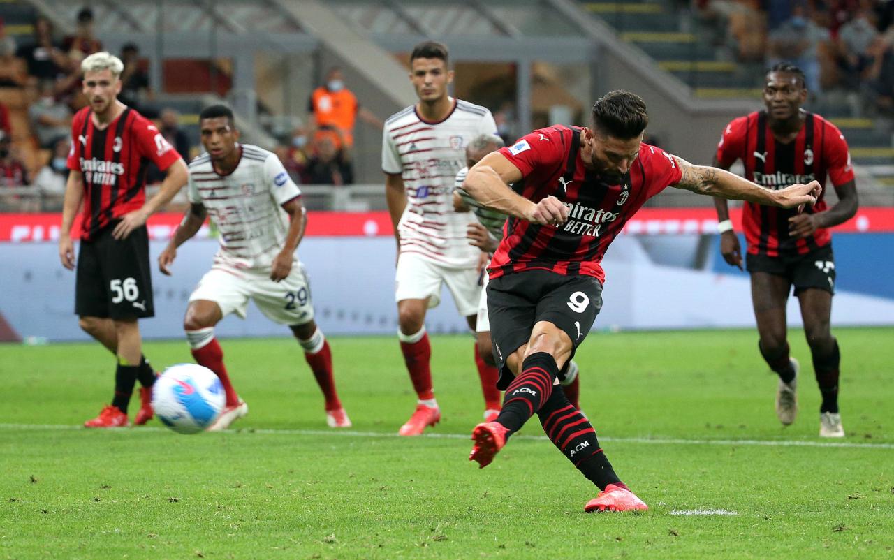 Olivier Giroud penalty