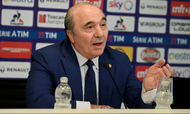 Commisso admits Fiorentina could risk losing Vlahovic for free